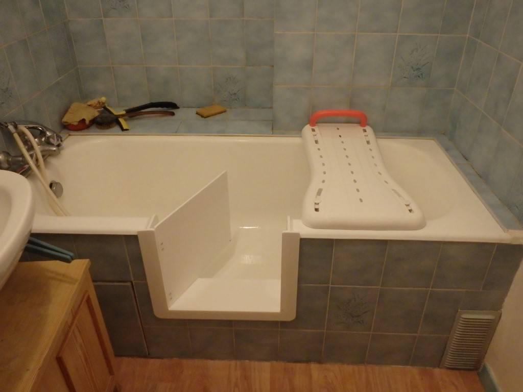 d coupe lat rale de baignoire sur bordeaux le bouscat. Black Bedroom Furniture Sets. Home Design Ideas
