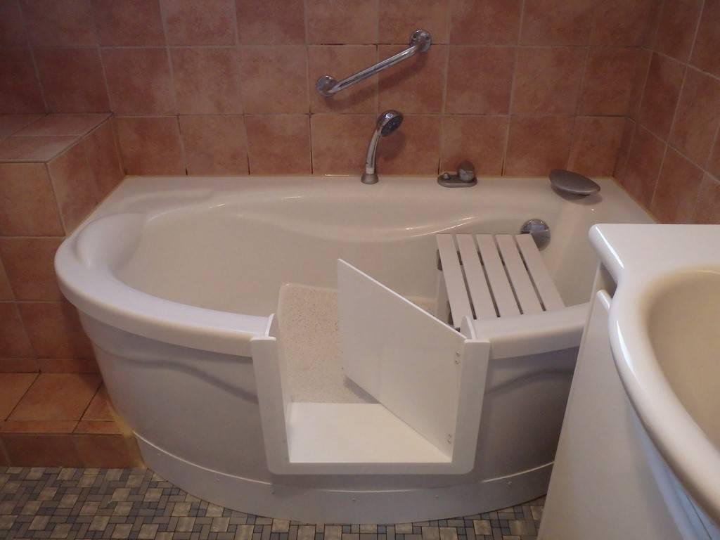 Transformation de salle de bain en douche a l 39 italienne - Baignoire douche avec porte pas cher ...