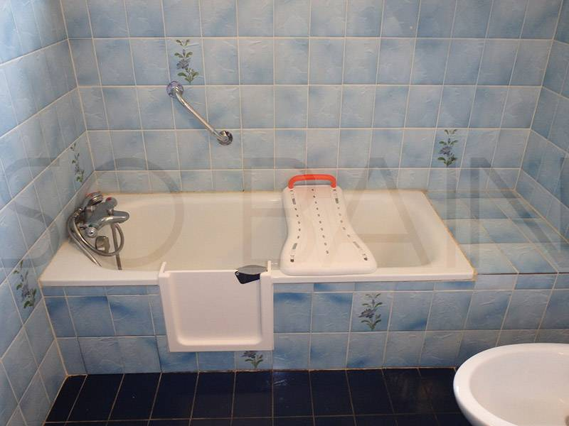 Transformer une baignoire en baignoire a porte pessac bordeaux cub bordeaux sobain - Comment transformer une baignoire en douche ...