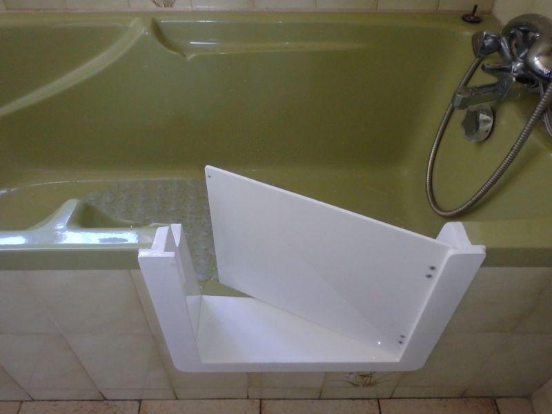 am nagement baignoire pour personne g e et pmr bordeaux. Black Bedroom Furniture Sets. Home Design Ideas
